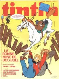Journal de TINTIN �dition Belge N� 38 du 18 Septembre 1979