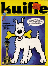 Kuifje weekblad N� 14 du 3 Avril 1979