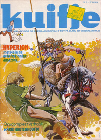 Kuifje weekblad N� 15 du 10 Avril 1979