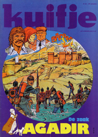 Kuifje weekblad N� 42 du 16 Octobre 1979
