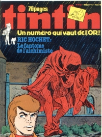 Journal de TINTIN �dition Fran�aise N� 185 du 23 Mars 1979