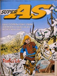 Super AS equi. pour la France de Super J N° 21 du 3 Juillet 1979