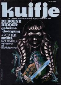 Kuifje weekblad N° 18 du 29 Avril 1980