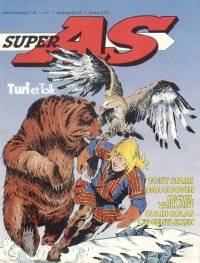 Super AS equi. pour la France de Super J N° 54 du 19 Février 1980