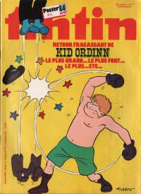 Journal de TINTIN �dition Belge N� 41 du 13 Octobre 1981