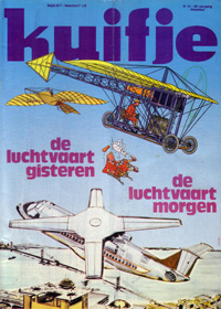 Kuifje weekblad N� 14 du 7 Avril 1981