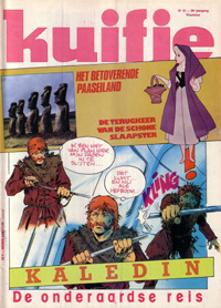 Kuifje weekblad N� 15 du 14 Avril 1981