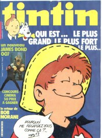 Journal de TINTIN �dition Fran�aise N� 318 du 9 Octobre 1981