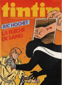 Journal de TINTIN �dition Belge N� 8 du 23 F�vrier 1982