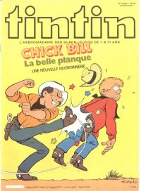 Journal de TINTIN �dition Belge N� 38 du 21 Septembre 1982