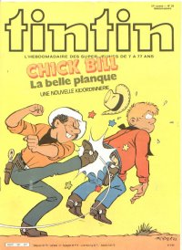 Journal de TINTIN �dition Fran�aise N� 367 du 17 Septembre 1982