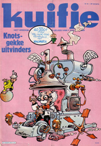 Kuifje weekblad N� 16 du 19 Avril 1983