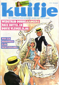 Kuifje weekblad N° 38 du 20 Septembre 1983