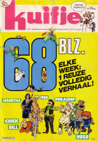 Kuifje weekblad N� 40 du 4 Octobre 1983