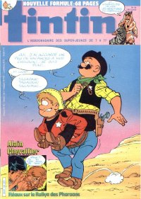 Journal de TINTIN �dition Fran�aise N� 425 du 1 Novembre 1983
