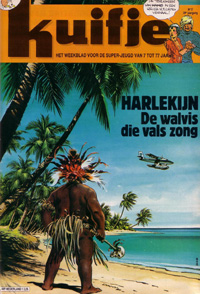 Kuifje weekblad N° 17 du 24 Avril 1984