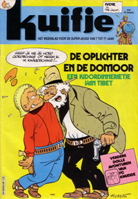 Kuifje weekblad N� 36 du 4 Septembre 1984