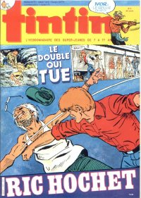 Journal de TINTIN �dition Belge N� 6 du 7 F�vrier 1984