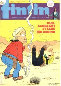 Journal de TINTIN �dition Fran�aise N� 441 du 21 F�vrier 1984