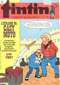 Journal de TINTIN �dition Fran�aise N� 449 du 17 Avril 1984