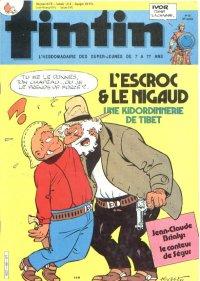 Journal de TINTIN �dition Belge N� 36 du 4 Septembre 1984