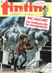 Journal de TINTIN �dition Belge N� 42 du 16 Octobre 1984