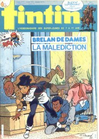 Journal de TINTIN �dition Fran�aise N� 493 du 19 F�vrier 1985