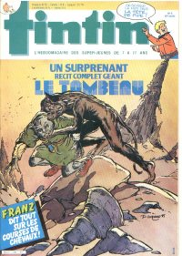 Journal de TINTIN �dition Fran�aise N� 494 du 26 F�vrier 1985