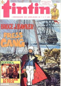 Journal de TINTIN �dition Fran�aise N� 496 du 12 Mars 1985