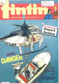 Journal de TINTIN �dition Fran�aise N� 500 du 9 Avril 1985