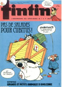 Journal de TINTIN �dition Fran�aise N� 501 du 16 Avril 1985