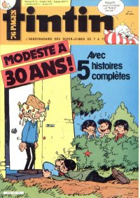 Journal de TINTIN �dition Fran�aise N� 502 du 23 Avril 1985