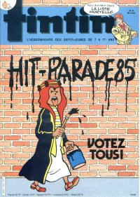 Journal de TINTIN �dition Fran�aise N� 505 du 14 Mai 1985