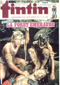 Journal de TINTIN �dition Fran�aise N� 520 du 27 Ao�t 1985