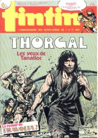 Journal de TINTIN �dition Fran�aise N� 521 du 3 Septembre 1985