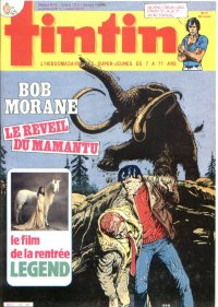 Journal de TINTIN �dition Fran�aise N� 522 du 10 Septembre 1985