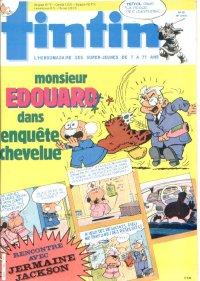 Journal de TINTIN �dition Fran�aise N� 523 du 17 Septembre 1985