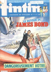 Journal de TINTIN �dition Fran�aise N� 524 du 24 Septembre 1985