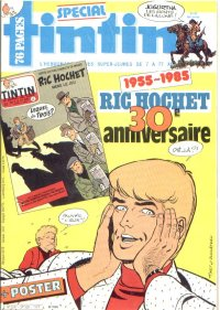 Journal de TINTIN �dition Belge N� 43 du 22 Octobre 1985