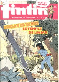 Journal de TINTIN �dition Fran�aise N� 529 du 29 Octobre 1985