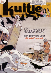 Kuifje weekblad N° 3 du 14 januari 1986