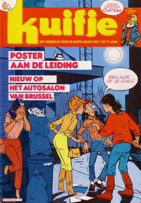 Kuifje weekblad N° 4 du 21 januari 1986