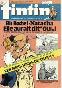 Journal de TINTIN �dition Fran�aise N� 551 du 1 Avril 1986