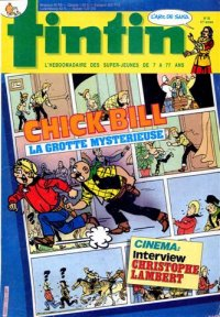 Journal de TINTIN �dition Belge N� 35 du 26 Ao�t 1986