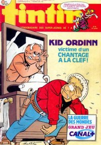 Journal de TINTIN �dition Belge N� 40 du 30 Septembre 1986