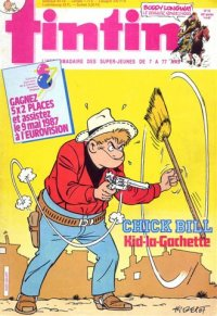 Journal de TINTIN �dition Fran�aise N� 604 du 7 Avril 1987
