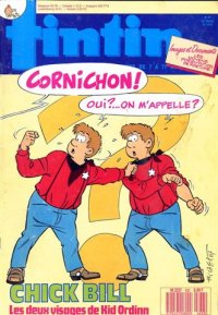 Journal de TINTIN �dition Fran�aise N� 633 du 27 Octobre 1987
