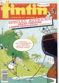 Journal de TINTIN �dition Fran�aise N� 653 du 15 Mars 1988