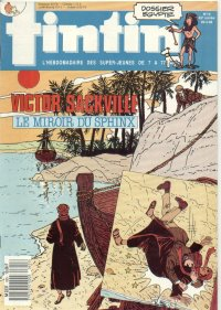 Journal de TINTIN �dition Fran�aise N� 655 du 29 Mars 1988