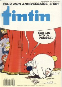 Journal de TINTIN �dition Fran�aise N� 656 du 5 Avril 1988